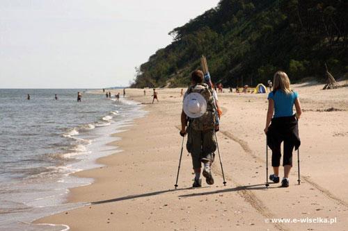 Wisełka - plaża