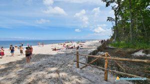 Karwieńskie Błota plaża